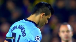 Sergio Agüero vs Barcelona Away (18/03/2015) HD 720p