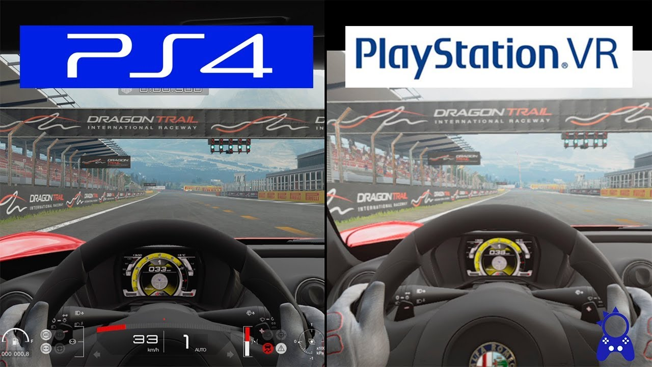 gran turismo sport playstation vr vs ps4 grapchics