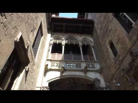 Barcellona Barrio Gotico Laura Foto