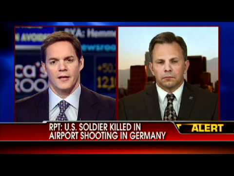 Shooting at Frankfurt Airport Involving U.S. Soldiers