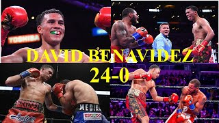 David Benavidez Wins & Knockouts 23-0 | Wins KO's And Highlights | Boxing