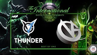 VGJ Thunder VS Vici Gaming (BO1) - The International 2018  Main Event Day 1