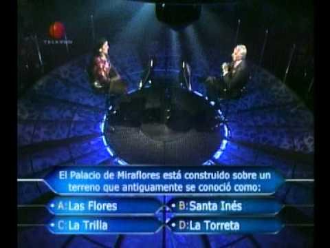 Quien Quiere Ser Millonario -- 06/06/2011