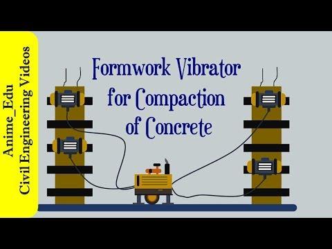 Formwork Vibrator For Compaction Of Concrete || Manufacture Of Concrete #23 ||