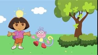 Dora Aventureira / Jogo pra aprender Inglês para Crianças com Desenhos HD