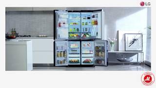 Технология SmartThinQ в холодильниках LG серии InstaView