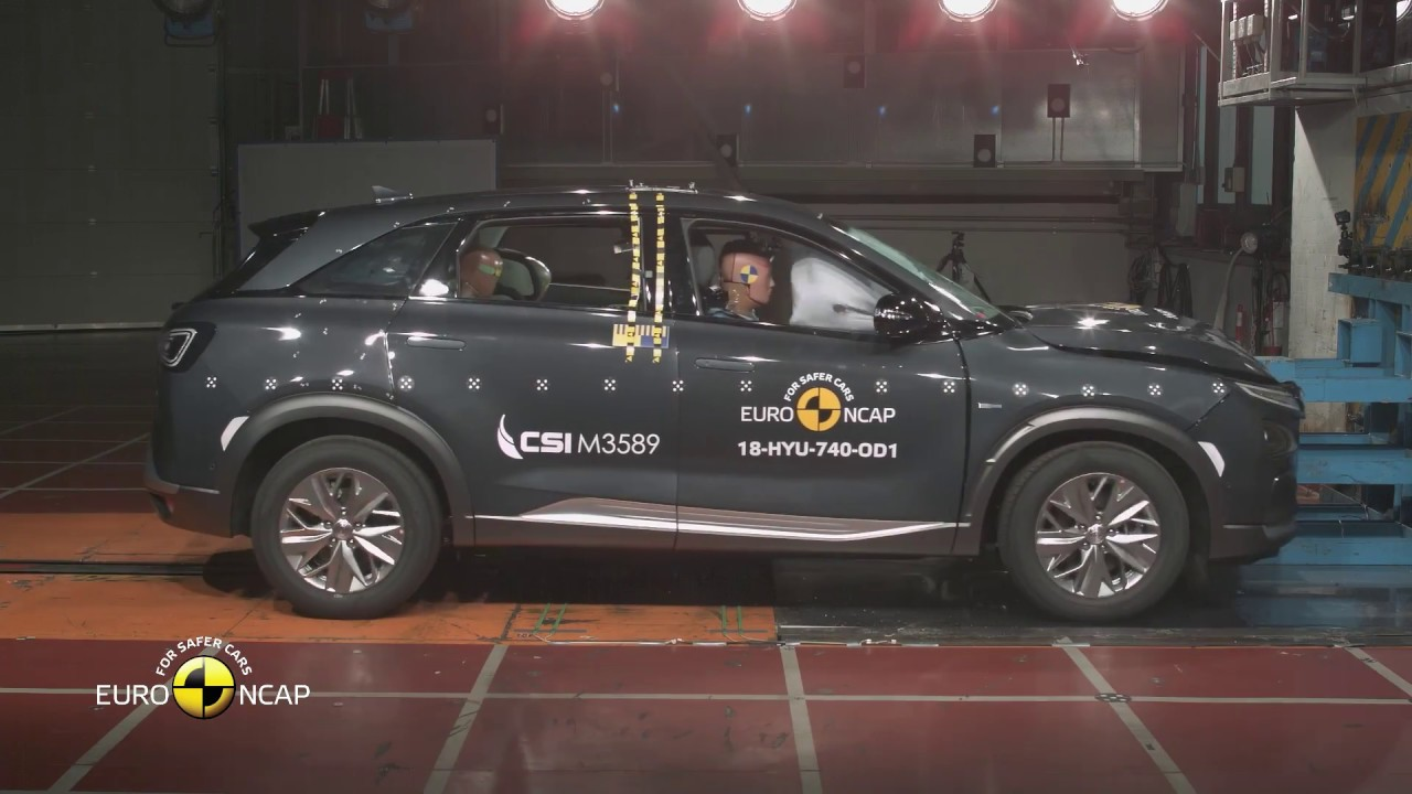 Euro NCAP Crash & Safety Tests of Hyundai NEXO - 2018 - Best in Class - Large Off-Road - YouTube