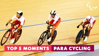Para cycling moments that made Headlines | Top 5 moments from Cycling | Paralympic Games
