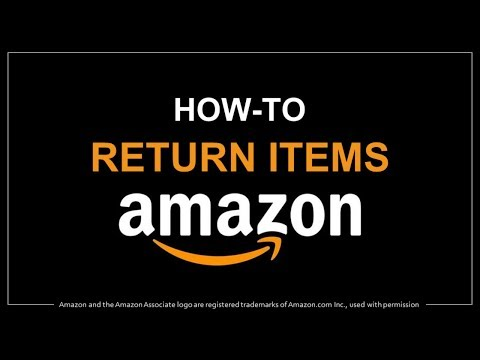 How To Return An Item On Amazon