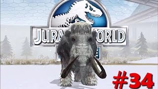MAMUT LANUDO EN JURASSIC WORLD!?! - Jurassic World #34