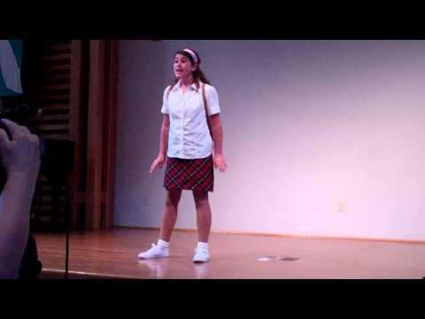 Micaela Morrow Lakehead Music and Arts Festival singing
