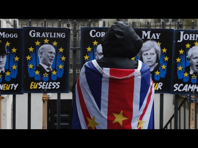 One great British delusion on Brexit was thinking: 'Having voted to leave, we'll be in a stronger bargaining position than the EU.' Idiots, do the math! It's 27 to 1. Now they're floundering.