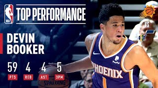 Devin Booker Goes Off For A Season-High 59 Points | March 25, 2019