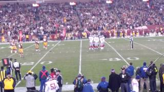 Victor Cruz catch vs Redskins 12/01/13