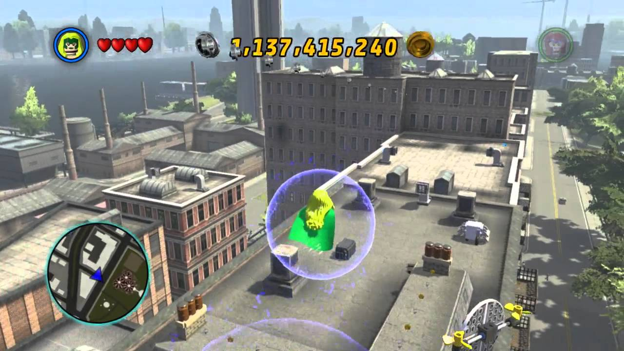 Lego Marvel Super Heroes The Video Game Polaris Free Roam Youtube