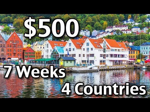 How To Plan Your Trip To Europe – Budget Travel Tips – $500 4 countries 7 weeks