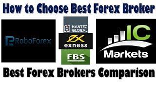 How To Choose Best Forex Broker | (FX) Best Forex broker Comparison