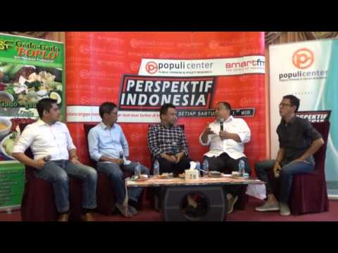 """Perspektif Indonesia """"Amuk Taksi, Ekonomi Kreatif, dan Revolusi Digital"""" - Edisi 26 Maret 2016"""