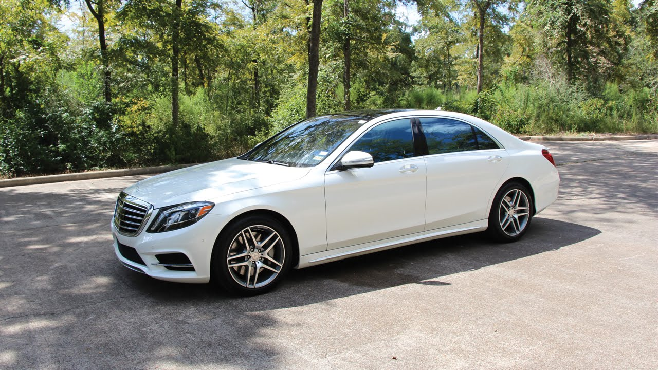 2014 MercedesBenz S550  Review in Detail, Start up, Exhaust Sound, and Test Drive  YouTube