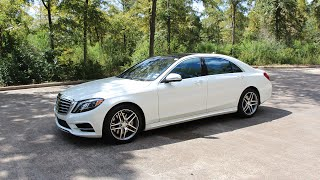 2014 Mercedes-Benz S550 - Review in Detail, Start up, Exhaust Sound, and Test Drive