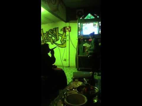 Karaoke night with Thai people