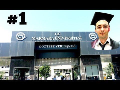 MARMARA ÜNİVERSİTESİ'NDE 1 GÜN | FACELESS VLOG