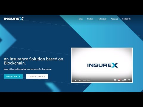 InsureX - An Insurance Solution based on Blockchain ICO review
