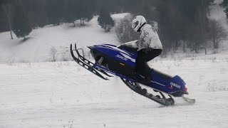 видео снегоход yamaha