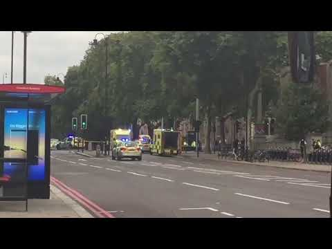 Car ploughed into pedestrians outside London