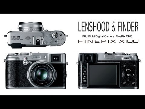 Fuji X100 - Lens Hood und Hybridsucher - Full HD 1080p