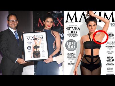 Priyanka Chopra's Controversial Maxim Magazine Cover Launch