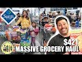 MASSIVE SAM'S CLUB GROCERY HAUL | HUSBAND AND WIFE GROCERY SHOPPING HAUL AT SAM'S CLUB