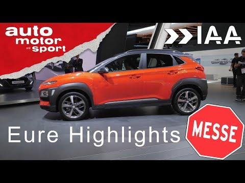 IAA 2017 – die größten Highlights aus allen Hallen| auto motor und sport