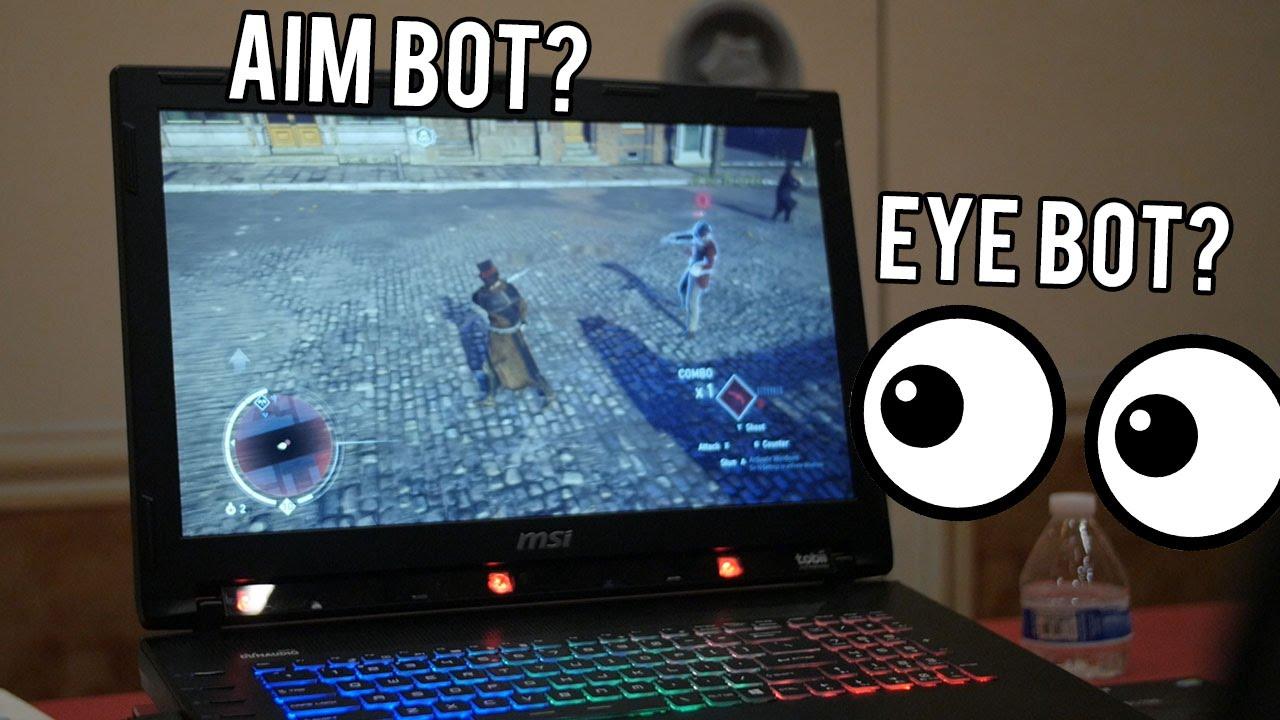 tobii eye tracking  MSI + Tobii Eye Tracking Sensor for PC Gaming! CES 2016 - YouTube