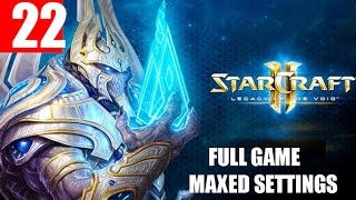 StarCraft 2 Legacy of the Void Walkthrough Part 22 Full Campaign HD Ultra Gameplay
