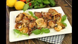 Pollo marinato al limone: ecco come prepararlo in una busta!