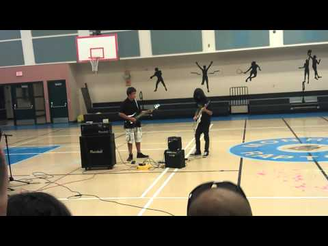 Fade to Black at James Monroe Middle School Talent Show 2012