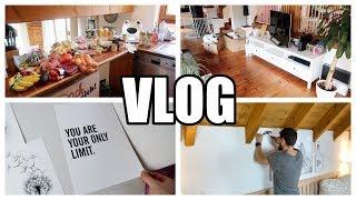 Der 1.Vlog aus dem neuen Haus | Wocheneinkauf 75€ | Schlafzimmer dekorieren