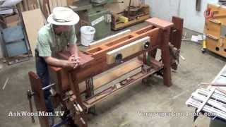 Roubo Workbench With Double Moxon Vise • 1 Of 8 • Intro