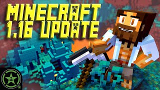 Achievement Hunter's Nether Region - Minecraft Update 1.16