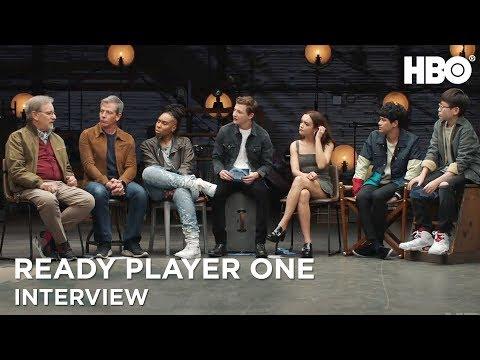 Ready Player One Interview w/ Steven Spielberg, Tye Sheridan & Cast | HBO