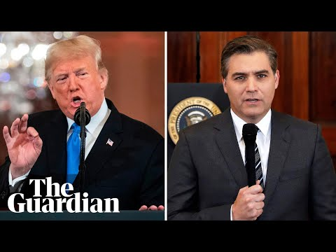 'The president's insane': book by CNN's Jim Acosta charts Trump war on press