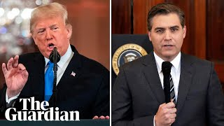 A short history of Donald Trump's clashes with CNN's Jim Acosta