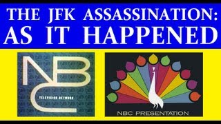 NBC-TV (11/22/63) (TWO HOURS OF JFK ASSASSINATION COVERAGE)