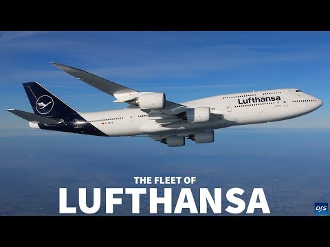 The Lufthansa Fleet