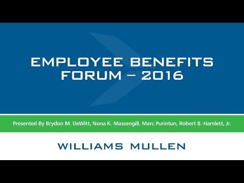 2016 Annual Employee Benefits Forum