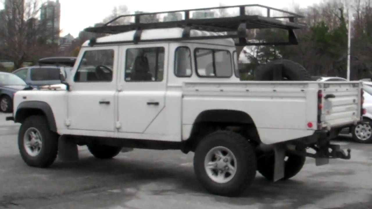 Land Rover Defender 130 Nice Youtube