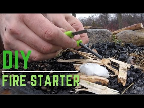 Fire Starter DIY Tested for Camping and Backpacking Gear