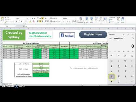 Top Share Global Calculator review.