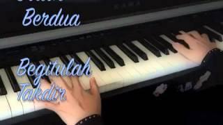 Jodoh Berdua~~ Hafiz Hamidun~~ Piano Cover with Lyrics.